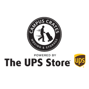 Campus Crates powered by The UPS Store Logo