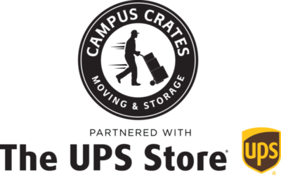 Campus Crates partnered with The UPS Store Logo